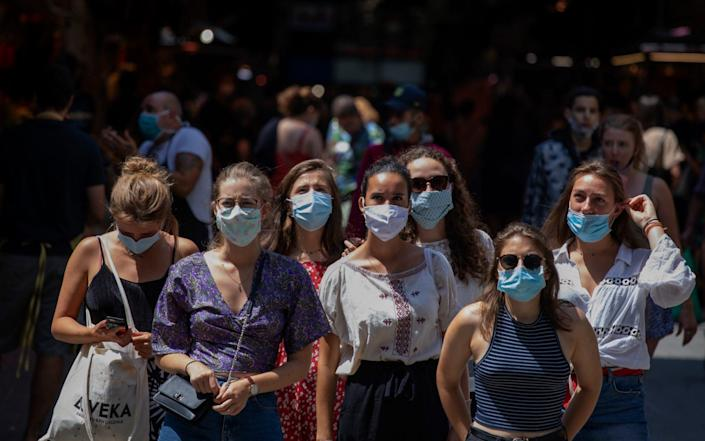 A new kitemark to launch for safety of facemasks - AP
