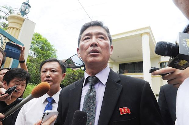 Former North Korean deputy ambassador to the United Nations Ri Tong-il (pic) is here to claim the body of the man he named as 'Kim Chol' based on the latter's passport instead of Kim Jong-nam.