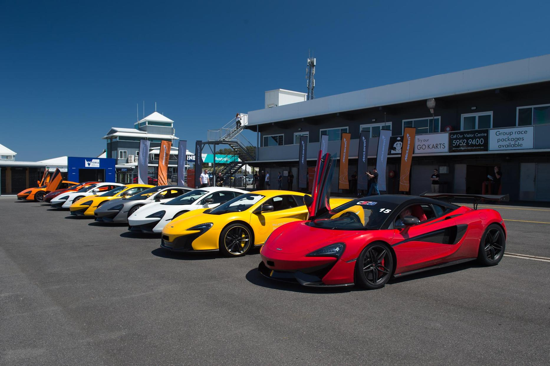 A track day provides a high-octane day out for Dads