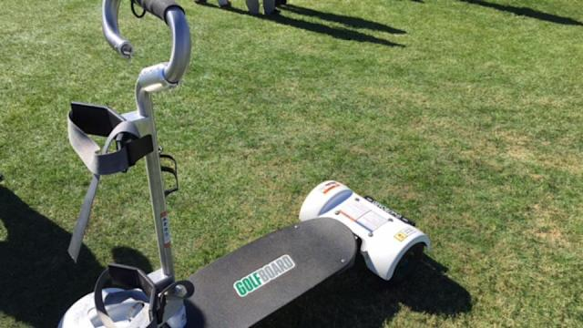 GolfBoards are easier to use, and more fun, than they look