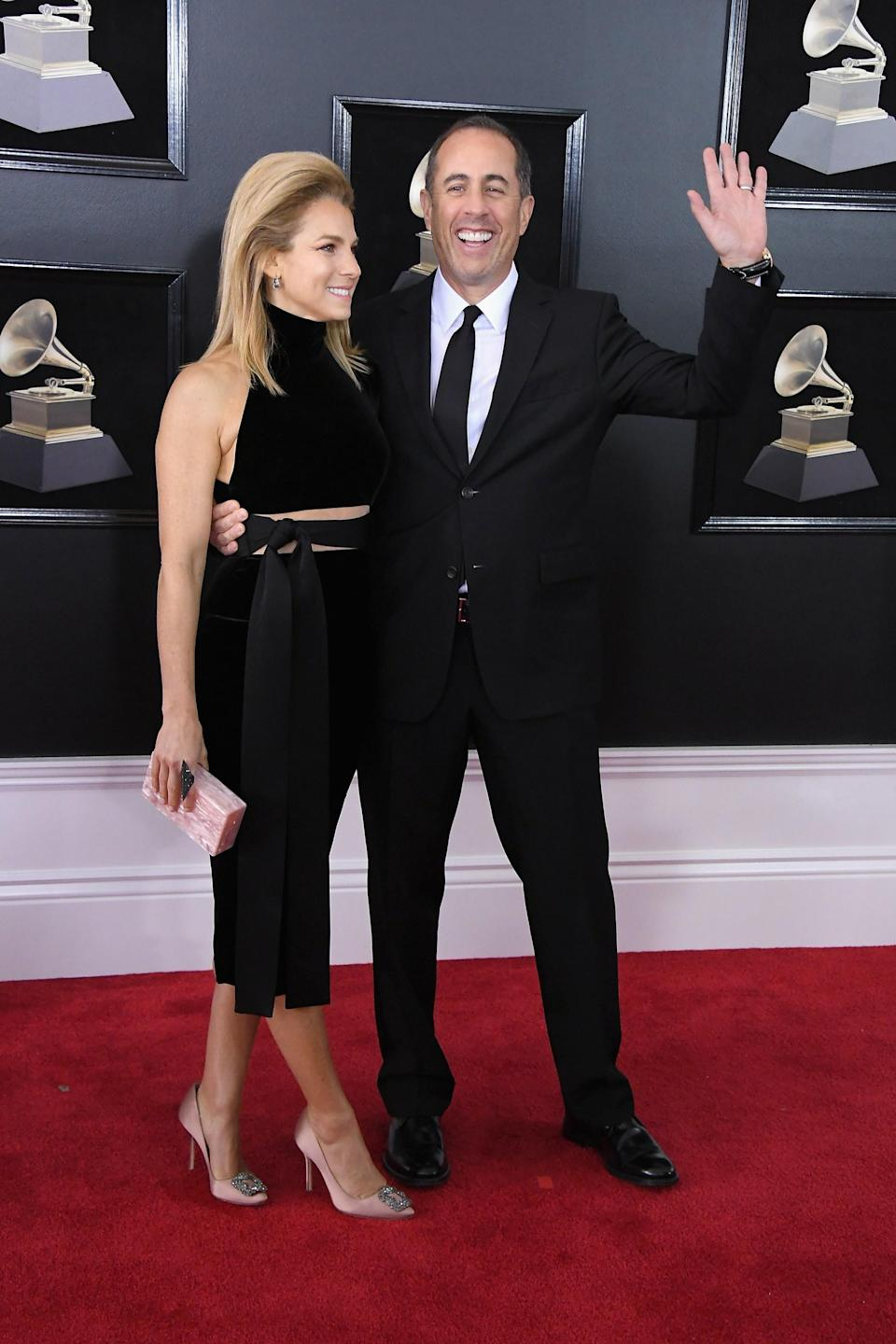 """<h1 class=""""title"""">Jessica Seinfeld and Jerry Seinfeld</h1><cite class=""""credit"""">Photo: Getty Images</cite>"""