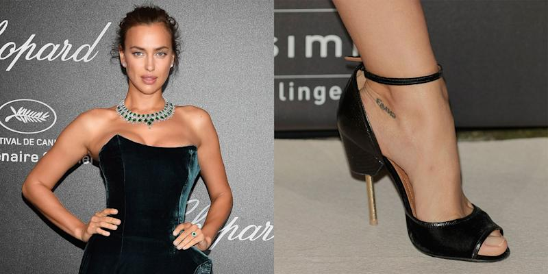 Irina Shayk Reveals the Emotional Story Behind Her Tiny Tattoo