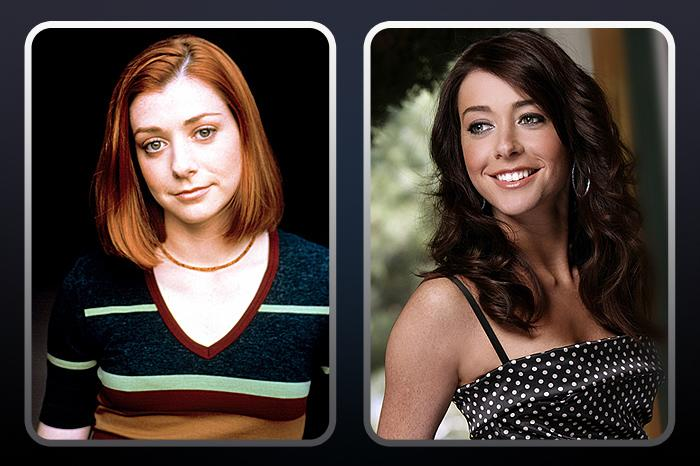 "<a href=""/alyson-hannigan/contributor/29512"">Alyson Hannigan</a>  (""Willow Rosenberg"") — THEN: Hannigan played Buffy's nerdy best friend who later came into her own as a powerful Wiccan and later a lesbian. // NOW: Aside from playing ex-band camper Michelle in the ""American Pie"" series, Hannigan currently plays Lily on the CBS hit comedy ""<a href=""/how-i-met-your-mother/show/38167"">How I Met Your Mother</a>,"" now in its seventh season."