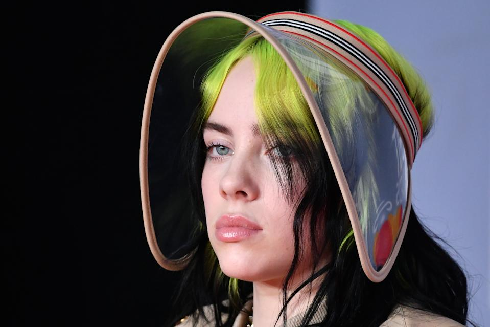 """Singer Billie Eilish spoke out on social media about """"white privilege."""" (Photo: Gareth Cattermole/Getty Images)"""
