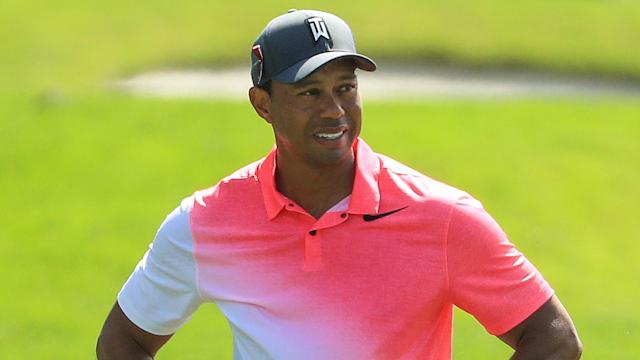 Tiger Woods, in his third PGA Tour start off his fourth back surgery, will enter the weekend four back at PGA National. Drink it in, man.