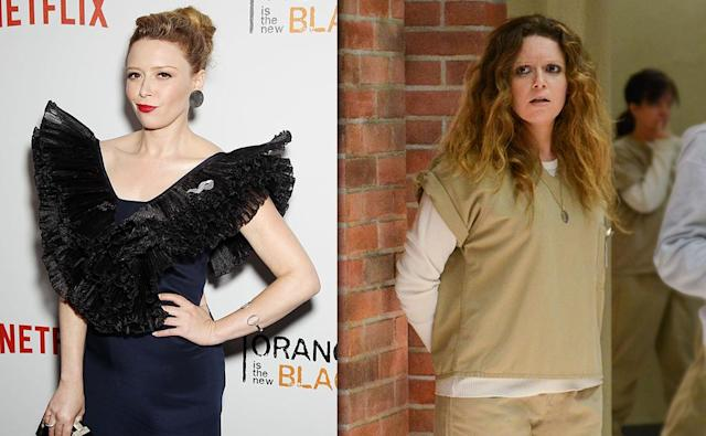 <p>Lyonne has had her well-publicized share of problems in real life, including a life-threatening drug addiction (like Nicky), and heart surgery (like Nicky). But she's looking fantastic on-screen and off these days, having survived a child actor past that began with her role as Opal on <i>Pee-wee's Playhouse</i> in 1986.<br><br>(Photo: Getty Images/Netflix) </p>