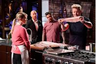"<p>On the show's fifth season, the contestants made <a href=""https://tv.avclub.com/what-it-s-like-to-be-a-contestant-on-masterchef-1798282063"" rel=""nofollow noopener"" target=""_blank"" data-ylk=""slk:their signature dish"" class=""link rapid-noclick-resp"">their signature dish</a>. Whatever that may be, the contestants cooked what they thought would show off their skills to the judges.</p>"