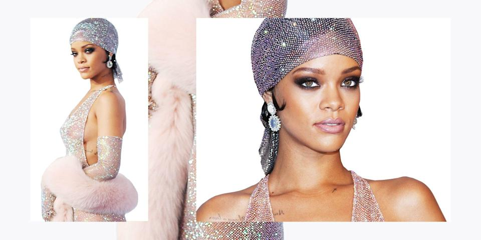 "<p>Diamonds are forever. They're also a girl's best friend―with crystals being a close second. We love all things sparkly and were dazzled by the flashy looks on the latest runways including the Swarovski encrusted <a href=""http://www.crfashionbook.com/fashion/a9968533/saint-laurent-new-collection-2017-carine-roitfeld/"" rel=""nofollow noopener"" target=""_blank"" data-ylk=""slk:Saint Laurent"" class=""link rapid-noclick-resp"">Saint Laurent</a> boots Rihanna quickly added to her closet. As a nod to National Splurge Day on Sunday, we've rounded up 50 of the best-and-blingiest fashion moments―from Marilyn Monroe and Audrey Hepburn to Paris Hilton, Beyonce, Kendall Jenner, and more.</p>"