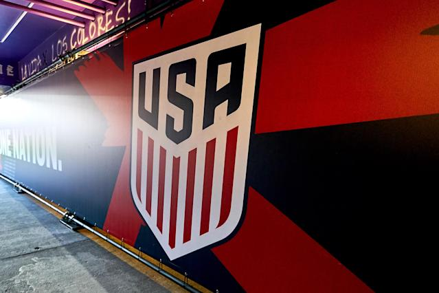 U.S. Soccer is canceling upcoming friendlies for the USMNT and USWNT, sources tell Yahoo Sports' Doug McIntyre. (Photo by Robin Alam/Icon Sportswire via Getty Images)