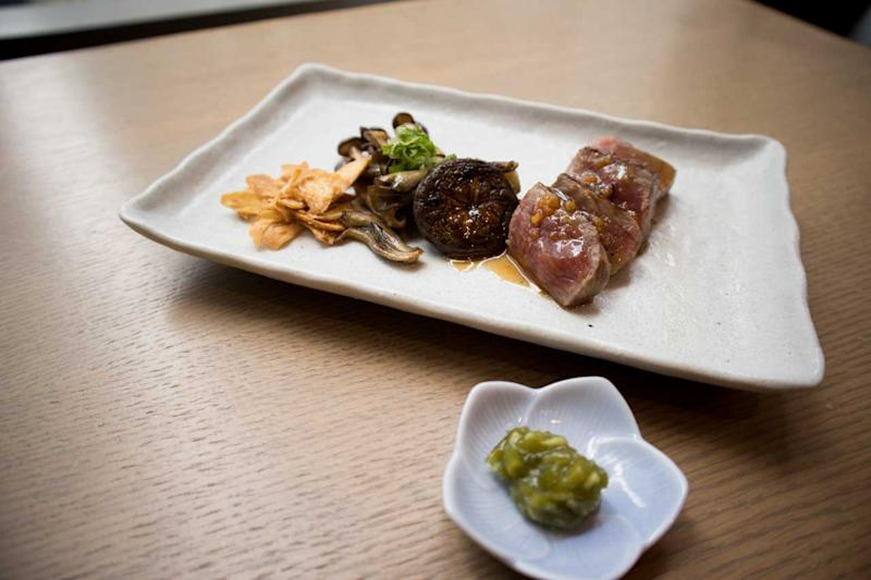 Ōmi Wagyu beef. (Photo: Zat Astha/Yahoo Lifestyle Singapore)