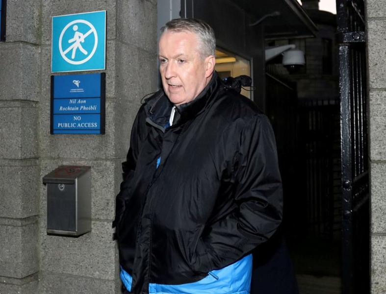 FILE PHOTO: Peter Bellew, former COO of Ryanair leaves the Four Courts in Dublin