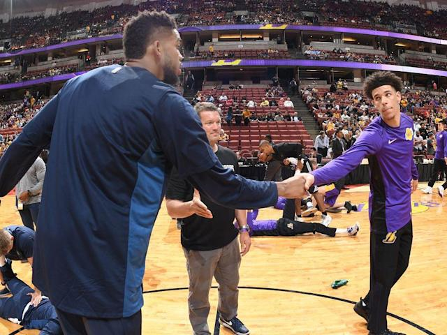 """<p>The NBA can't force Stephen Curry to play through a bum ankle, but the league's schedule-makers did everything else within their power to ensure a strong Christmas Day quintuple-header.</p><p>To help compensate for the absence of Golden State's two-time MVP, the league lined up a series of phenomenal individual match-ups. Kristaps Porzingis and Joel Embiid should open the festivities dueling for the Best Unicorn title. LeBron James and Kevin Durant, again the top two players on SI.com's annual Top 100 NBA Players list, will go head-to-head in the showcase game. And then reigning MVP Russell Westbrook will trade buckets and insane stat lines with MVP runner-up James Harden. Along the way, Kyrie Irving will stare down John Wall, while the Timberwolves' No. 1 picks (Andrew Wiggins and Karl-Anthony Towns) will battle the Lakers' No. 2 picks (Brandon Ingram and Lonzo Ball).</p><p>For a schedule that is set months in advance, skewed towards large markets, and vulnerable to injury issues, that's hard to top. San Antonio and Toronto have both played well enough for their fans to feel snubbed, but everyone else can settle in for 12 or 13 hours of basketball goodness.</p><p>Without further ado, here's a full breakdown of Monday's five-game slate, which doubles as a viewer's guide. Each game is ranked on its """"must-see"""" potential from 1 (halt all family affairs) to 5 (break out the board games). <em>All stats through Dec. 21.</em></p><p>?</p><p><strong><em>Game 1: </em></strong><em>Sixers at Knicks (12 p.m. ET, ESPN)<br><strong>Previous meetings</strong>: None.</em><br><strong><em>Main storyline: </em></strong><em>The rising East.</em></p><p>The league took a chance on both sides of the Christmas Day opener when it announced this matchup in August. New York, after parting with Phil Jackson and Derrick Rose, seemed destined for a <a href=""""https://www.si.com/nba/2017/09/23/carmelo-anthony-trade-knicks-thunder-russell-westbrook-paul-george"""" rel=""""nofollow noopener"""" target=""""_blan"""