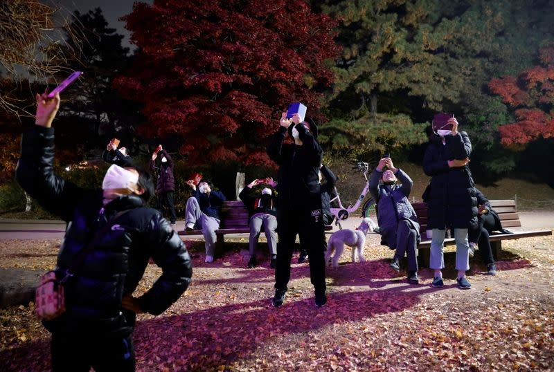 Drones light up Seoul sky with messages of hope amid COVID-19