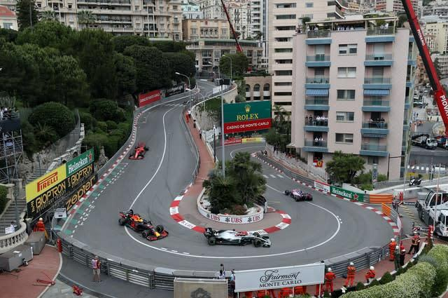 There will be no Monaco Grand Prix this year (PA)