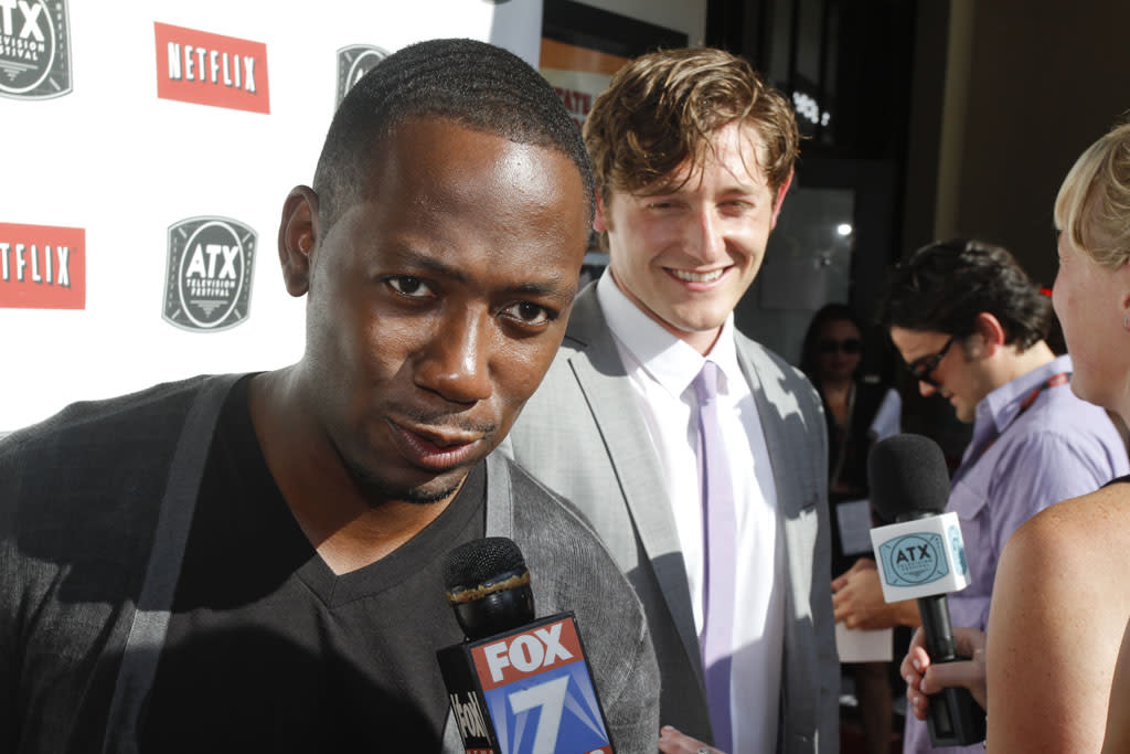 Lamorne Morris and Lucas Neff attend the ATX Television Festival on Thursday, June 6, 2013 in Austin, Texas.