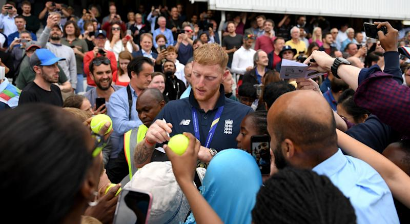 Stokes was cleared of affray following a fight outside a nightclub in Bristol less than a year ago (Getty Images)