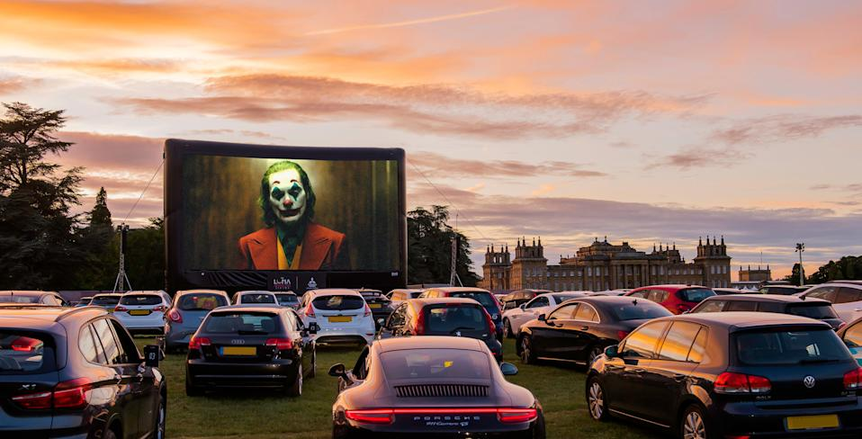 Luna Cinema drive-in at Blenheim