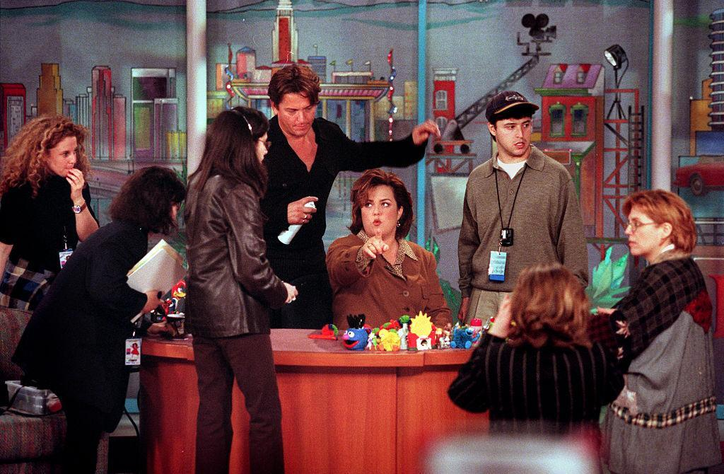 Rosie O'Donnell appears on The Rosie O'Donnell Show in February 1997. (Photo: Robert Gauthier/Los Angeles Times via Getty Images)