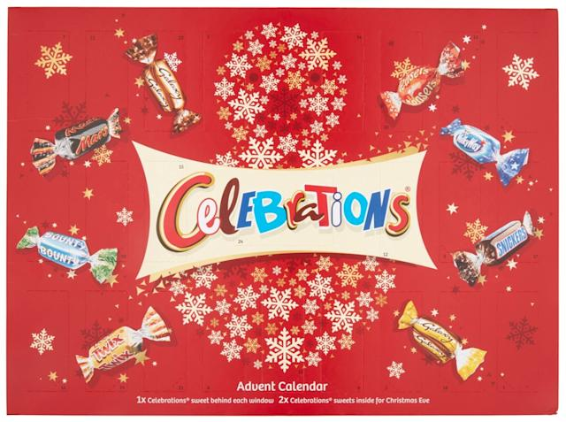 Last year there was also outrage over day one of the Celebrations advent calendar (Photo: Mars Wrigley UK)