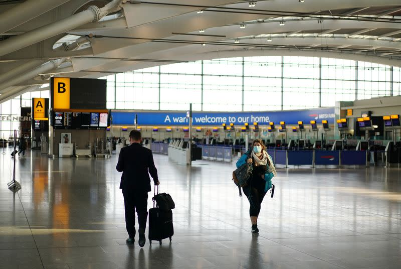 Heathrow Airport sees April passenger numbers down 97%