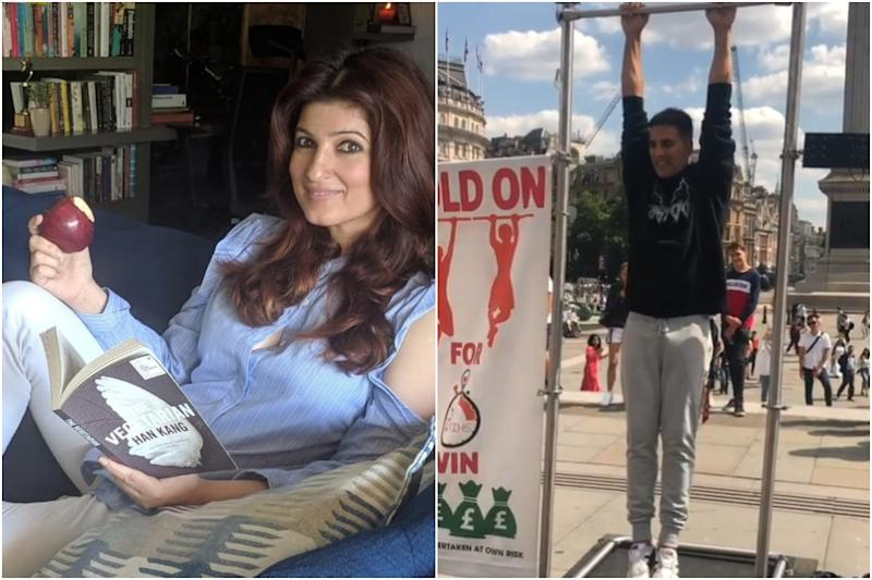 Twinkle Khanna Teases Akshay Kumar For Trying to Make Quick 100 Pounds During Family Vacation