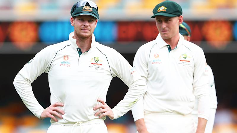 Steve Smith, pictured here during Australia's clash with Pakistan at the Gabba in November.