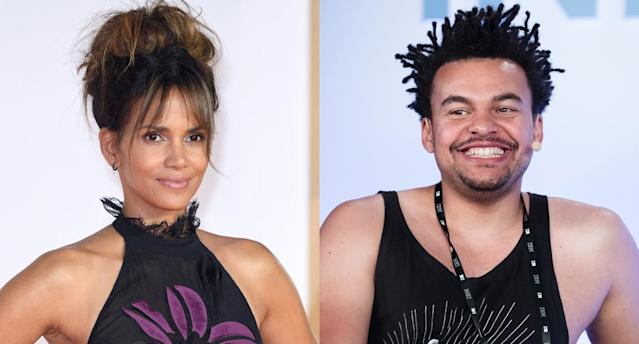 Halle Berry and her new guy, Alex Da Kid. (Photo: Getty Images)