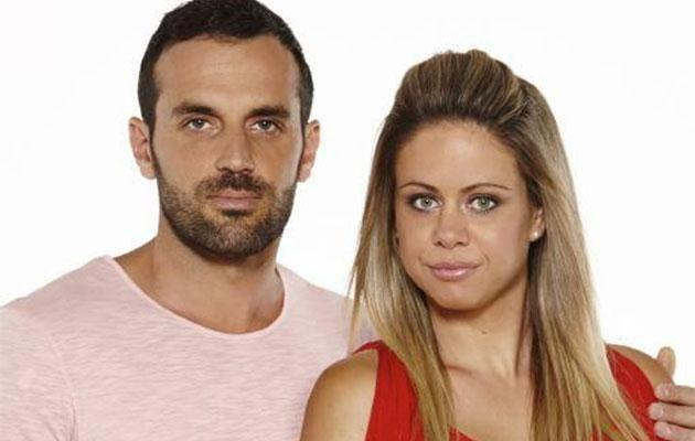 We first met married couple Ryan and Cass Thistleton on reality series Seven Year Switch. Source: Channel Seven