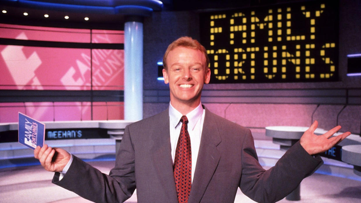 Les Dennis hosted 'Family Fortunes' for 15 years between 1987 and 2002. (ITV)