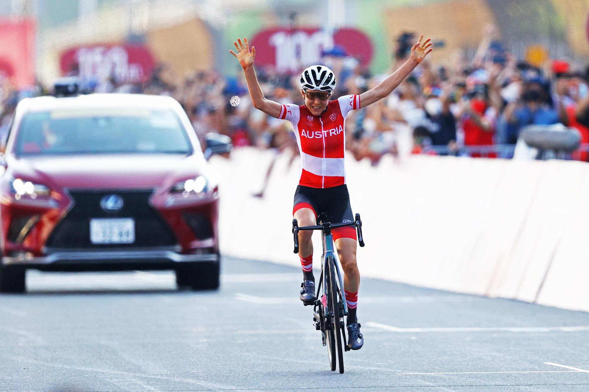 An underdog road cyclist won so big that her opponents forgot she existed