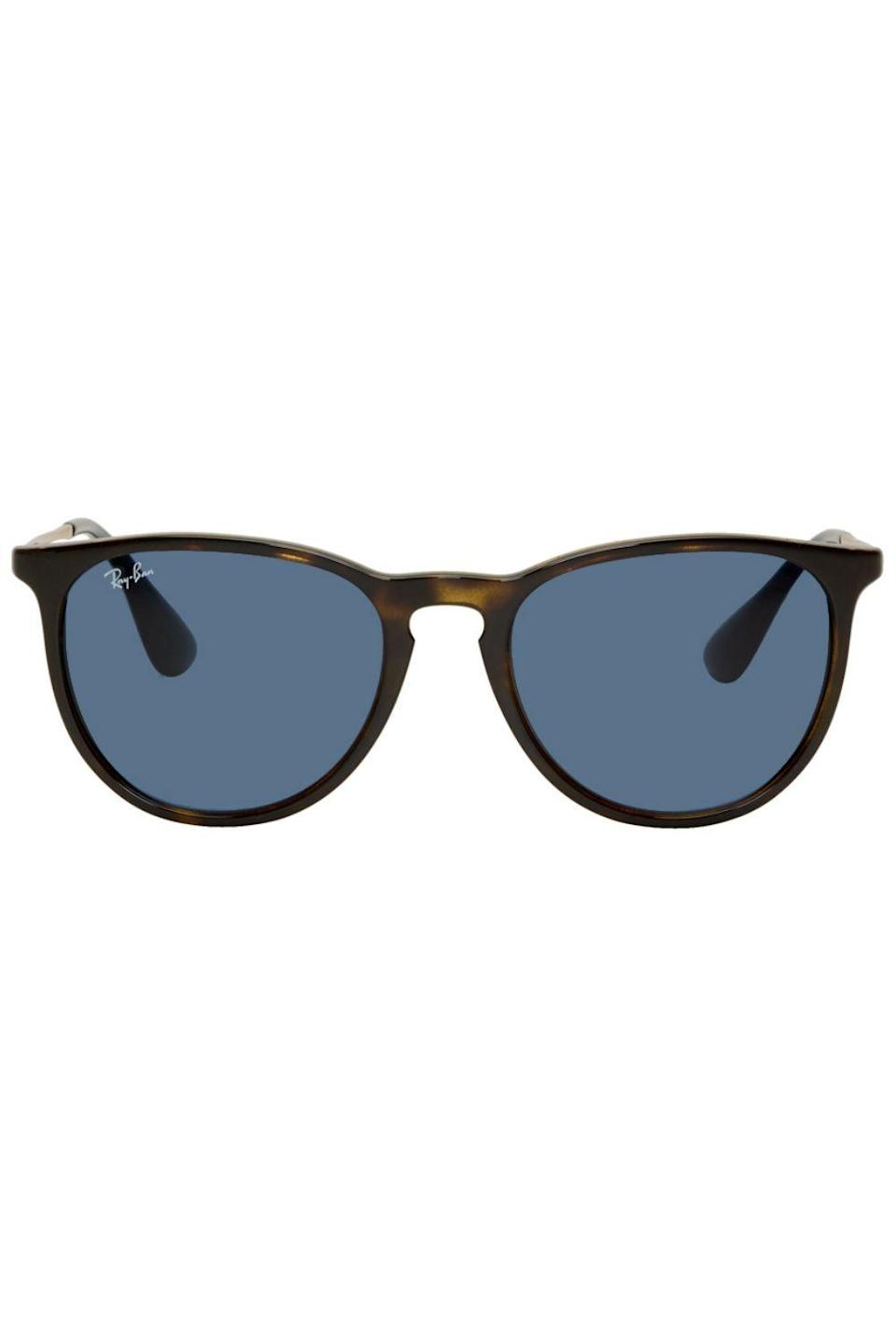 """<p><strong>Ray-Ban</strong></p><p>ssense.com</p><p><strong>$95.00</strong></p><p><a href=""""https://go.redirectingat.com?id=74968X1596630&url=https%3A%2F%2Fwww.ssense.com%2Fen-us%2Fmen%2Fproduct%2Fray-ban%2Ftortoiseshell-erika-sunglasses%2F4602911&sref=https%3A%2F%2Fwww.cosmopolitan.com%2Fstyle-beauty%2Ffashion%2Fg32619153%2Fgifts-for-man-who-has-everything%2F"""" rel=""""nofollow noopener"""" target=""""_blank"""" data-ylk=""""slk:Shop Now"""" class=""""link rapid-noclick-resp"""">Shop Now</a></p><p>A new pair of shades is always appreciated. He'll be glad to add this pair to the rotation.</p>"""