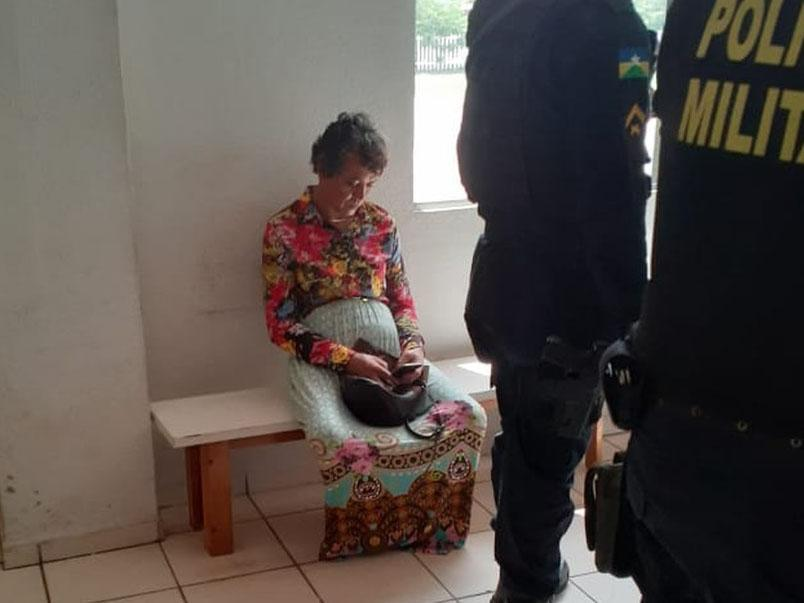 Heitor Marcio Schiave, 43, dressed as his mother to take her driving test: Brazil Military Police