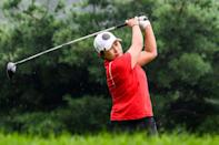 Pak Se-ri's success inspired a generation of South Korean women to follow in her footsteps (AFP/Anthony WALLACE)