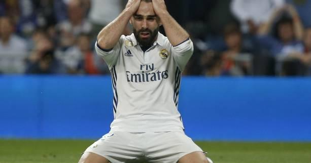 Foot - ESP - Real - Real Madrid : Dani Carvajal absent un mois