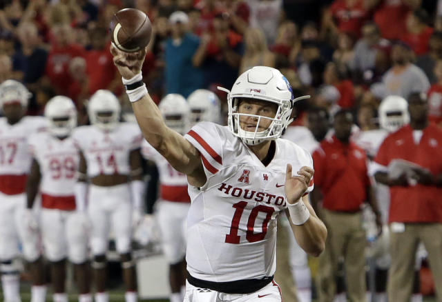 Kyle Allen's time at the University of Houston did not last long. (AP)