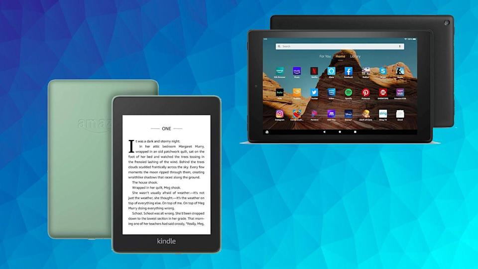 E-readers and tablets are majorly discounted at the site right now.