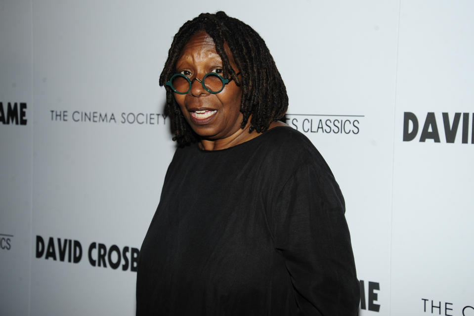 """NEW YORK, NY - JULY 16: Whoopi Goldberg attends Sony Pictures Classics & The Cinema Society Host A Screening Of """"David Crosby: Remember My Name"""" at The Roxy Cinema on July 16, 2019 in New York City. (Photo by Paul Bruinooge/Patrick McMullan via Getty Images)"""