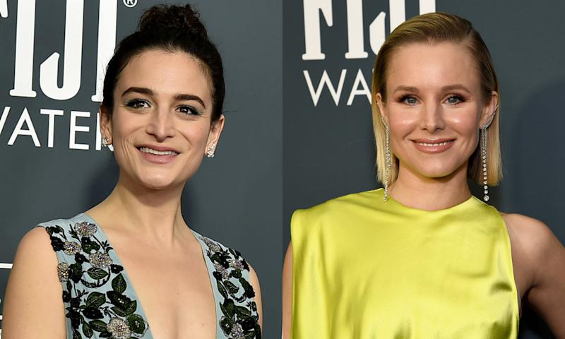 Jenny Slate and Kristen Bell are leaving their TV roles voicing mixed-race characters. (Photo: Getty Images)