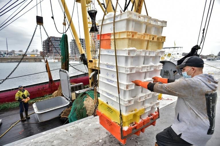 Belgian fishermen are worried that if the UK leaves the EU single market without a fishing quotas agreement, their industry will be devastated