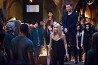 """<p><b>This Season's Theme: </b> """"This season is all about putting family love to the test by introducing something that is scarier and more evil than they are,"""" says showrunner Michael Narducci. """"And that thing is threatening the most vulnerable member of their family, their daughter."""" <br><br><b>Where We Left Off: </b> After Marcel (Charles Michael Davis) rose from the dead as a super-powered hybrid, he delivered lethal bites to Elijah (Daniel Gillies) and Kol (Nathaniel Buzolic). Rebekah (Claire Holt) convinced Marcel to put Klaus (Joseph Morgan) on trial. Freya (Riley Voelkel) was poisoned, limiting her ability to find cures for her siblings, so she put their souls into an alternate plane. Klaus was found guilty and stabbed with the misery-inducing knife. Hayley (Phoebe Tonkin) left New Orleans with daughter Hope to seek safety. <br><br><b>Coming Up: </b> The season begins with a five-year time jump, during which Hayley and Hope have been on the road. """"[Hope] is now 7 years old, she is smart, she is savvy, she understands what magic is and that she is extremely powerful,"""" Narducci says. """"She has this curiosity about who her dad was, and is and will she ever see him again?"""" Meanwhile, Hayley's been tracking down the missing werewolf clans to find the cure, and new character Keelin (Christina Moses) may be the key. <br><br><b>Daddy Dearest: </b> With Hope becoming a major character this season, her relationship with Klaus will be focal point. Says Narducci, """"Can Klaus Michaelson, in good conscience, be a father to this very powerful young witch who needs guidance and who needs a dad?"""" <i>— KW</i> <br><br>(Credit: Bob Mahoney/The CW) </p>"""