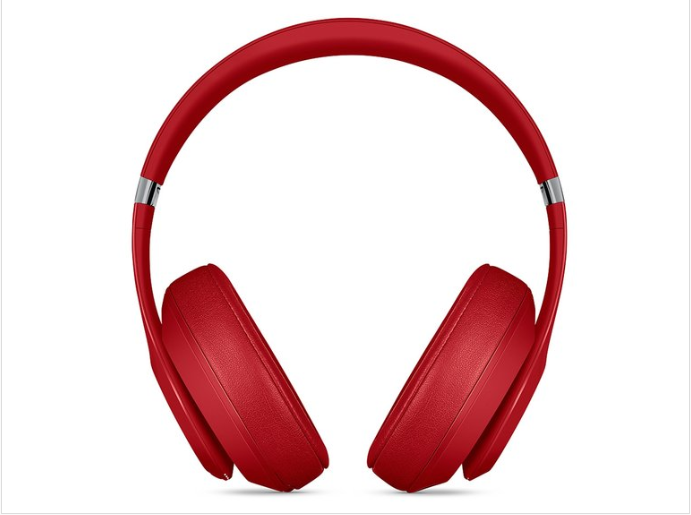 Beats Studio3 Bluetooth Wireless Over-Ear Headphones.