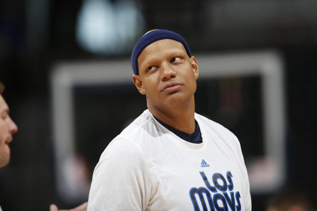 Charlie Villanueva is looking for toilet bandits. (AP Photo/David Zalubowski)