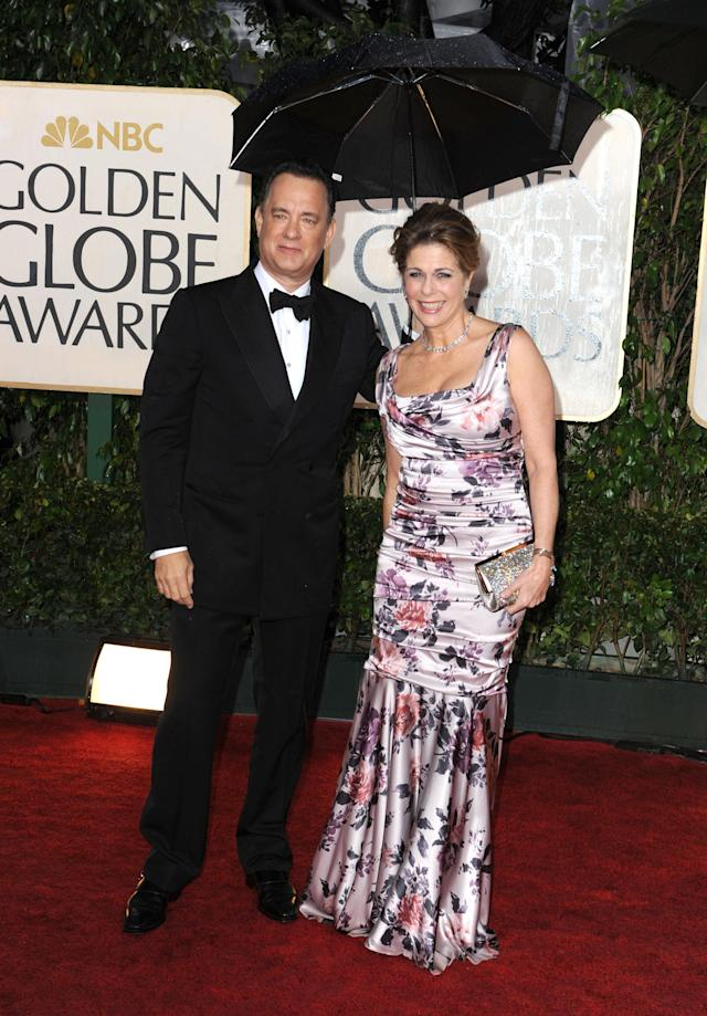 The A-list couple at the 2010 Golden Globes. (Photo: Craig Barritt/WireImage)