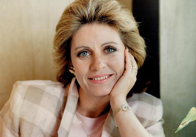 <p>Patty Duke first came to prominence when, at age 16, she won the best supporting actress Oscar for playing Helen Keller in the Miracle Worker. She later starred in The Patty Duke Show and Valley of the Dolls. She died at age 69 on March 29. — (Pictured) Patty Duke in 1987. (Andrew Stawicki/Toronto Star via Getty Images) </p>