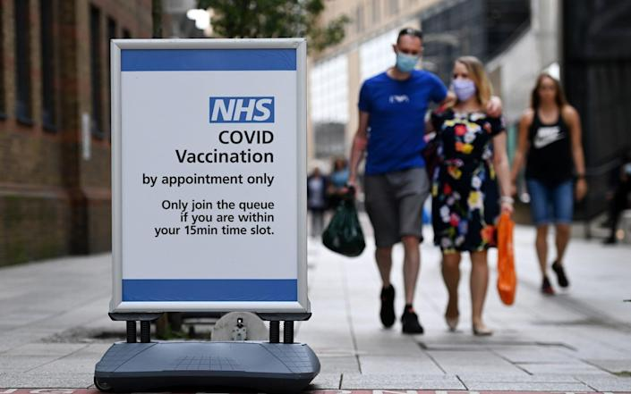 Efforts are ongoing to increase vaccine uptake among young people, but cases have declined significantly in recent days - ANDY RAIN/EPA-EFE/Shutterstock