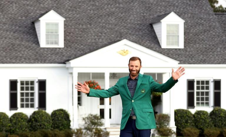 Dustin Johnson slipped on the green jacket for winning the Masters for the first time on November 15 last year