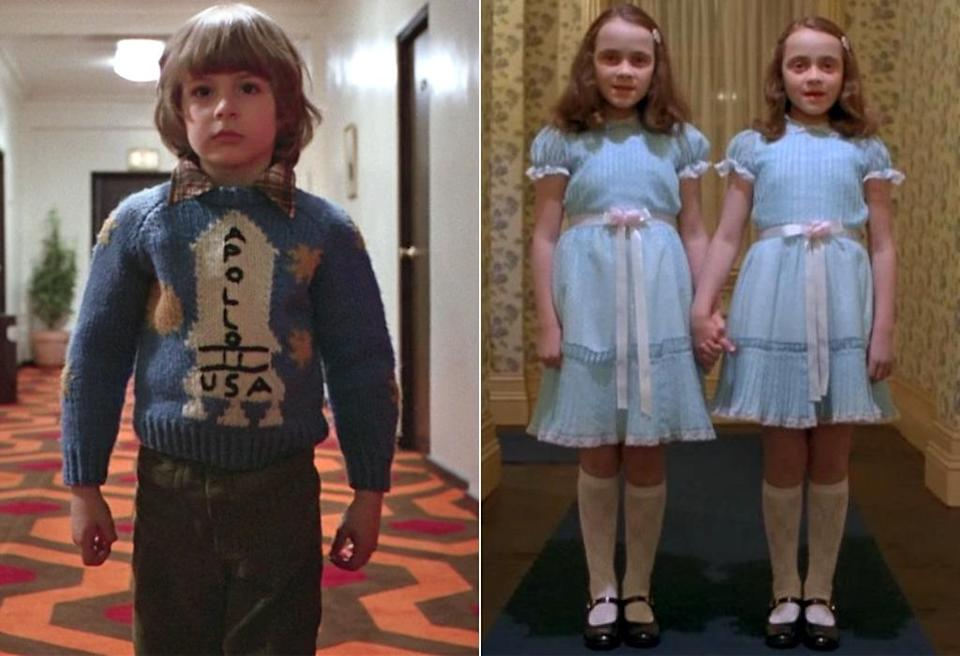 """<p>From Danny Torrance's """"redrum"""" rants to those <a href=""""https://www.youtube.com/watch?v=CMbI7DmLCNI"""" rel=""""nofollow noopener"""" target=""""_blank"""" data-ylk=""""slk:spooky twin girls"""" class=""""link rapid-noclick-resp"""">spooky twin girls</a> who gave Danny visions of their respective bloody deaths, the kids in Stanley Kubrick's 1980 horror classic are unnerving all around.  (Photo: Warner Bros.)</p>"""