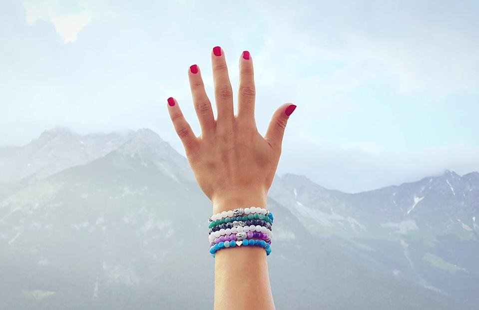 """<p>""""I made beaded bracelets."""" - Haley Lyndes, editorial assistant, growth and strategic features</p>"""