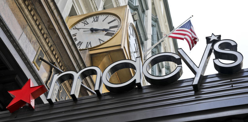 Department stores: Macy's sales fall, Kohl's profit drops