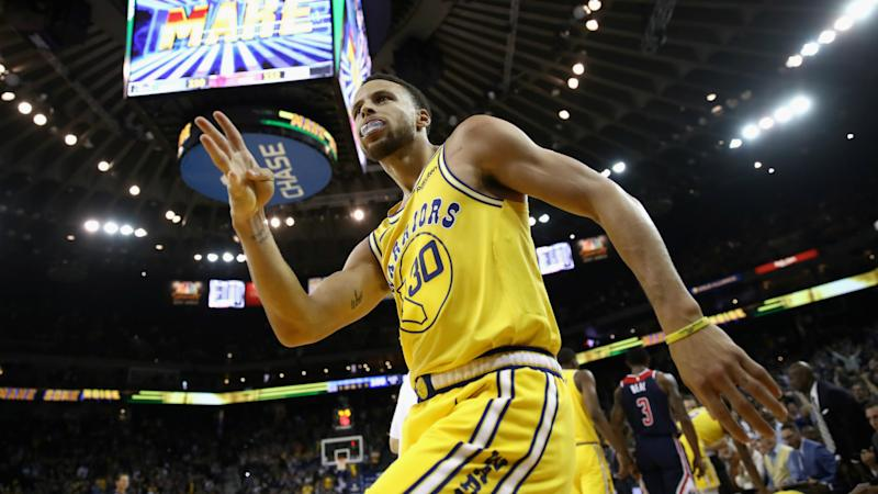5156c6f11 Curry cooks Wizards with 51 points